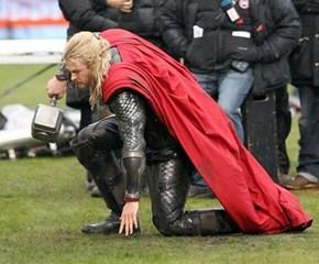 Looks Like Thor Tripped