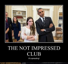 THE NOT IMPRESSED CLUB
