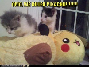 OMG, WE KILLED PIKACHU!!!!!!!!