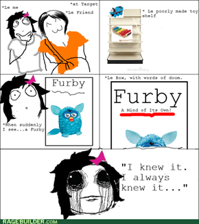 Furby: Now More Creepy