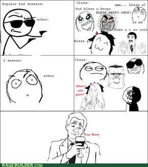 The sneeze curse
