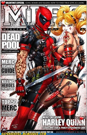 Merc Exclusive: Harley Quinn Leaves Mr J for D. Pooly's Psychotic Love!