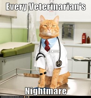 Every Veterinarian's  Nightmare