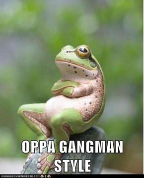 OPPA GANGMAN STYLE