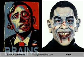 Barack Zombama Totally Looks Like Mask