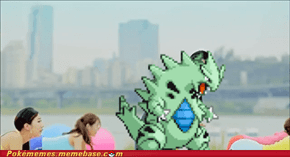 Tyranitar's Emerald sprite fits perfectly here