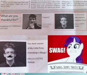 Me in the school newspaper