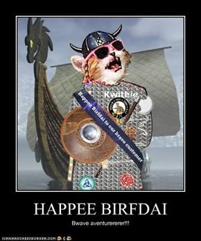 HAPPEE BIRFDAI