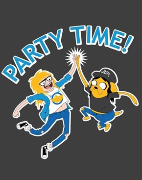 Party on, Finn! Party on, Jake!