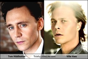 Tom Hiddleston Totally Looks Like Ville Valo