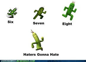 Evolution of Cactuar