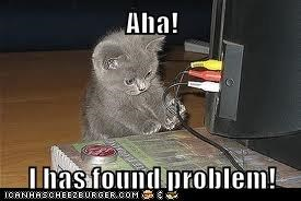 Aha!  I has found problem!