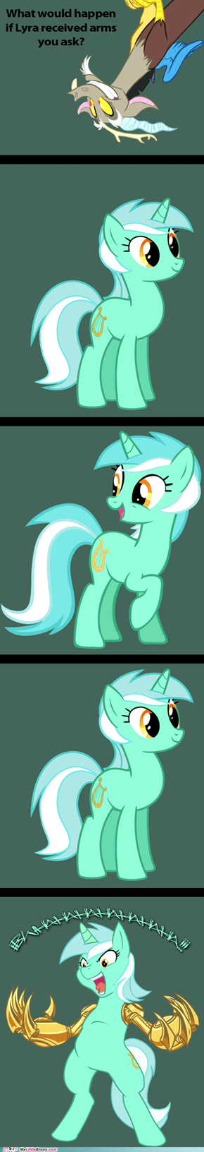 If Lyra had Arms