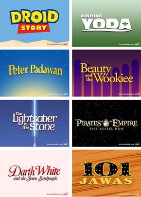 Even MOAR Disney/Lucas Film Ideas!