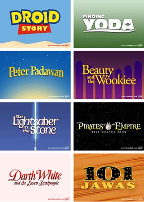 Even MOAR Disney/Lucas Film Ideas!