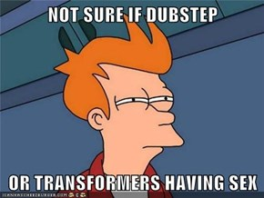 NOT SURE IF DUBSTEP  OR TRANSFORMERS HAVING SEX