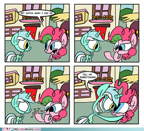 You've got to hand it to Pinkie