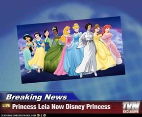 Breaking News - Princess Leia Now Disney Princess