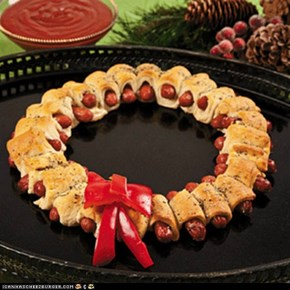 Wonderful Wiener Wreath