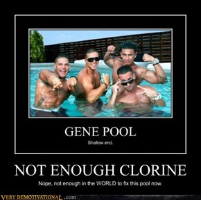 NOT ENOUGH CLORINE