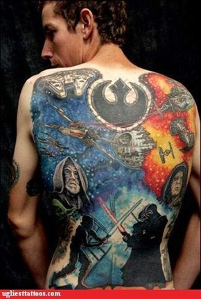 The Empire Strikes This Guy's Back