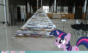 Twi's book pyramid