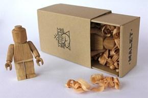 Wood LEGO WIN