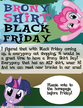 Brony Shirt Day!
