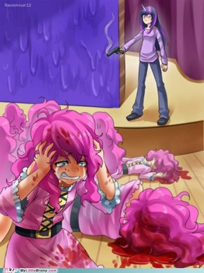 Finding the real Pinkie...Twilight Sparkle style