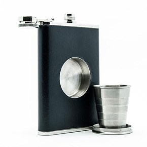 Because Drinking Straight From the Flask is Pedestrian
