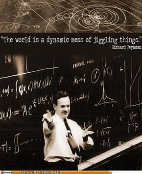 Feynman Wisdom, or Feyndom
