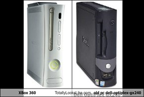 XBox 360 Totally Looks Like old pc dell-optiplex-gx240