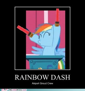 Rainbow Dash's Dream Career