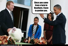 The truth about the turkey Obama Pardoned