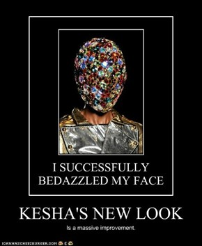 KESHA'S NEW LOOK