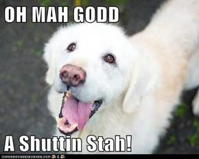 OH MAH GODD  A Shuttin Stah!