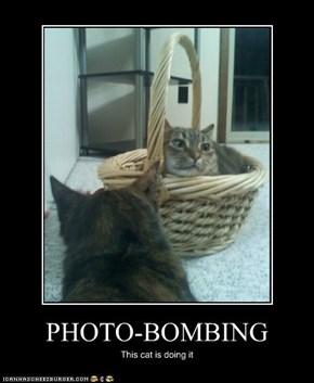 PHOTO-BOMBING