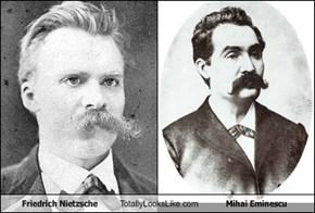 Friedrich Nietzsche Totally Looks Like Mihai Eminescu