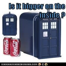 Is it bigger on the inside ?