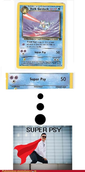 Golduck use Super Psy... wait, what?