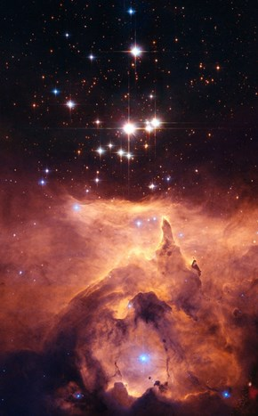 Space Shot of the Day: Cathedral to Massive Stars