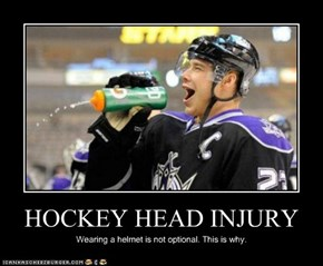 HOCKEY HEAD INJURY