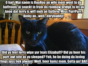 RooRoo plays wiff Jerry!