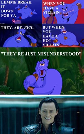 He's Just Misunderstood!