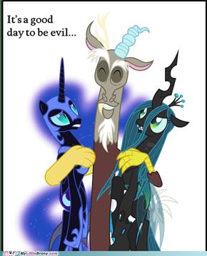 *An evil title*
