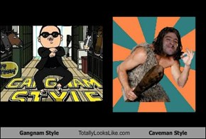 Gangnam Style Totally Looks Like Caveman Style