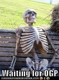 Waiting for OGP