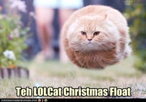 Teh LOLCat Christmas Float