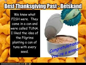 Best Thanksgiving Past - Betskand