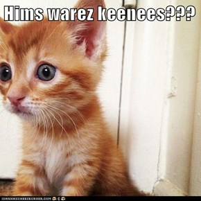 Hims warez keenees???